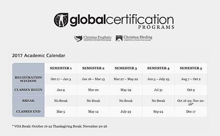 GCP Academic Calendar 2017