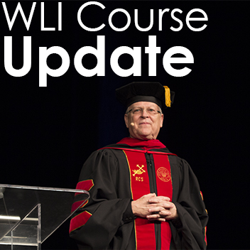 Image of Randy Clark in graduation robe for Wagner Leadership Institute