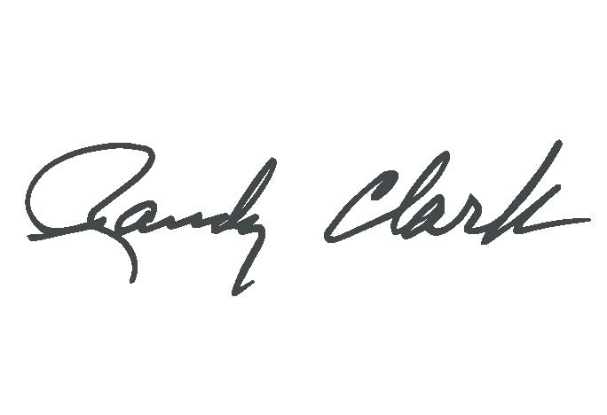 Randy Clark signature