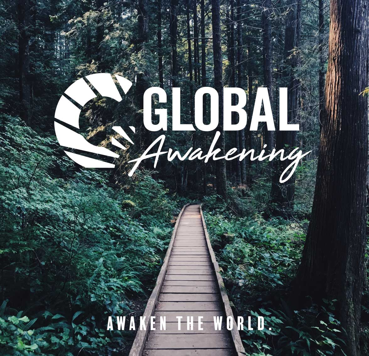 second poster of new Global Awakening logo