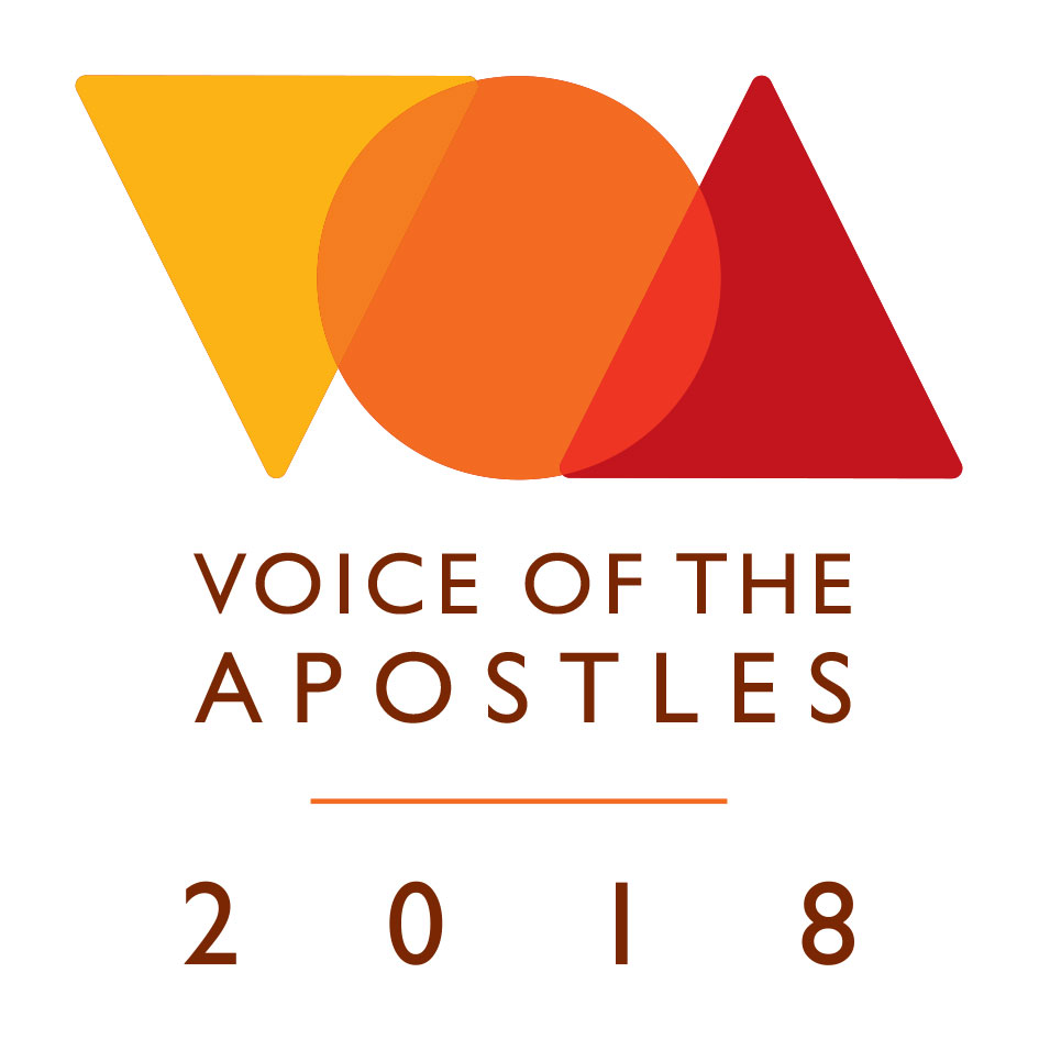 logo for voice of the apostles 2018 conference